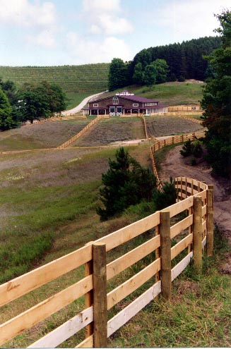 Horse Fence Design Proulx fencing michigans source for quality farm ranch and horse horse fence located in leelanau county designed and installed by proulx fencing of metamora workwithnaturefo